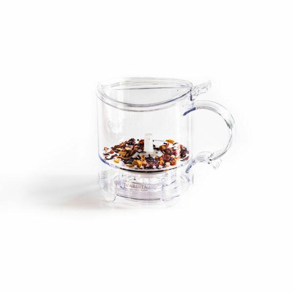 Teamaker Tearista_met droge thee