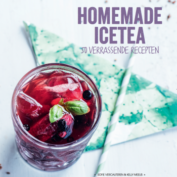Homemade Icetea boek cover